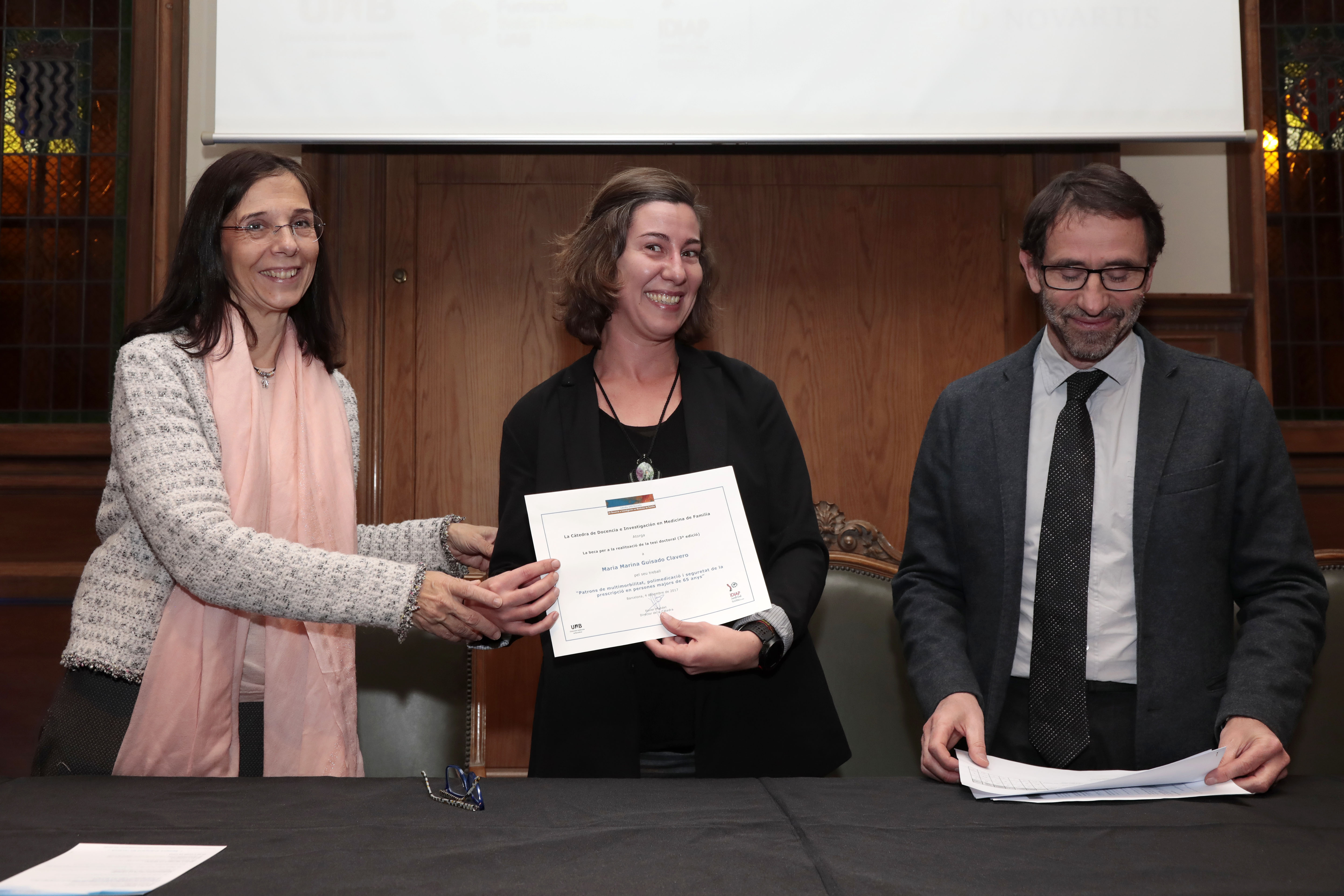 Awarded the Dr. Marina Guisado Clavero